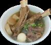 Galbitang (Korean Beef Rib Noodle Soup) Super Size
